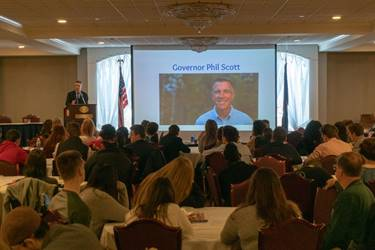 High School/Career Technical Center Students  from around the State celebrated Entrepreneurship Day – February 5, 2019