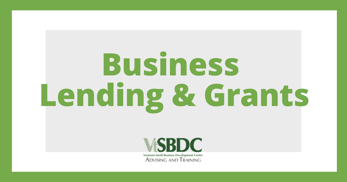 Disaster COVID-19 Business Lending & Grants (State & Federal) 21-301