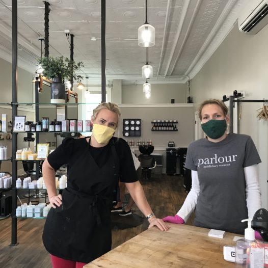 Middlebury Salon Reconfigures Business Plan Through COVID-19