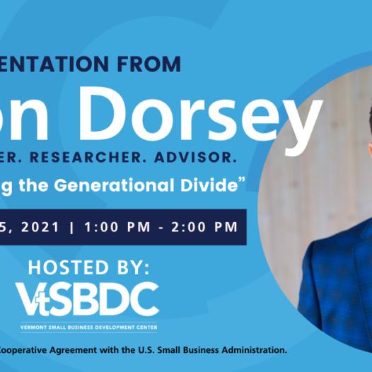 VtSBDC hosts world's leading generations speaker Jason Dorsey